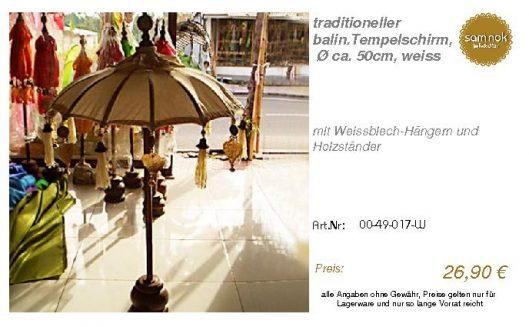 00-49-017-W-traditioneller balin.Tempel _sam nok