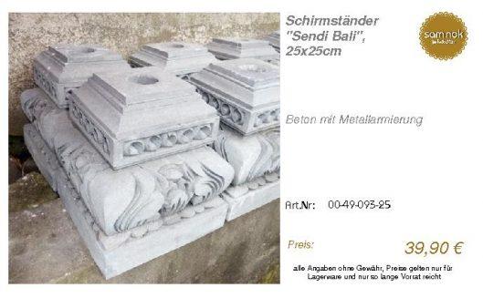 00-49-093-25-Schirmständer _Sendi Bali_, _sam nok