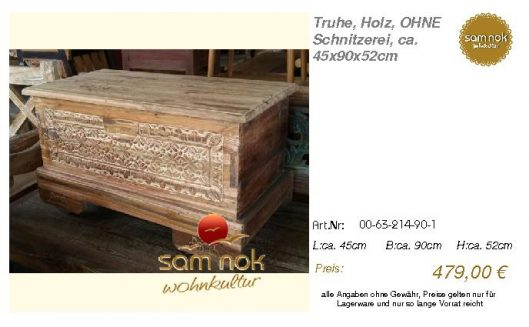 00-63-214-90-1-Truhe, Holz, OHNE Schnitzer _sam nok