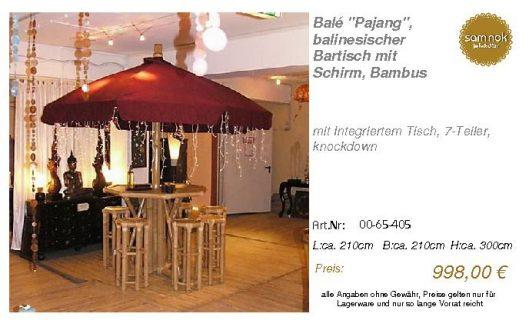 00-65-405-Balé _Pajang_, balinesische _sam nok