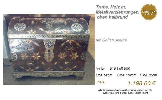 2121-63-200-Truhe, Holz m. Metallverzie _sam nok