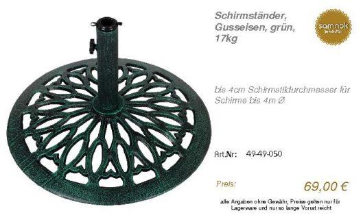 49-49-050-Schirmständer, Gusseisen, g _sam nok
