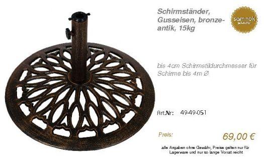 49-49-051-Schirmständer, Gusseisen, b _sam nok
