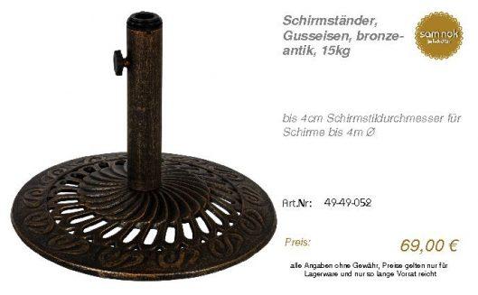49-49-052-Schirmständer, Gusseisen, b _sam nok