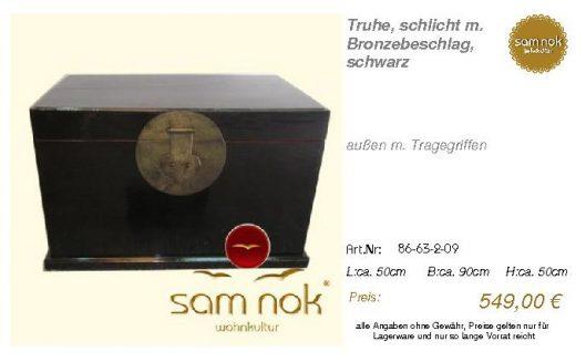 86-63-2-09-Truhe, schlicht m. Bronzebe _sam nok