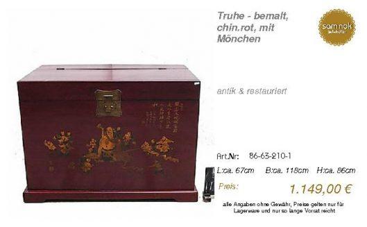 86-63-210-1-Truhe - bemalt, chin.rot, m _sam nok