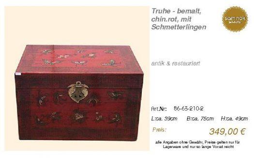 86-63-210-2-Truhe - bemalt, chin.rot, m _sam nok